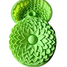 """Allforhome(TM) 8.7"""" Chrysanthemum flower Silicone Cake Mold BIRTHDAY CAKE PANS bakeware molds moule à gâteau"""