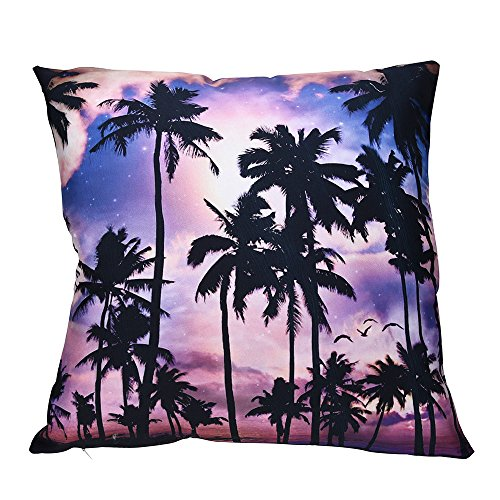 AOJIAN Home Decor Print Square Decorative Cushion Cover Pillow Protectors Bolster Pillow Case Pillowslip,Throw Pillow Covers