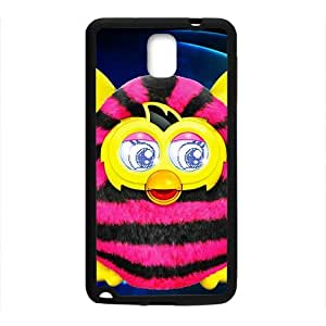 Lovely pink and yellow owl Cell Phone Case for Samsung Galaxy Note3