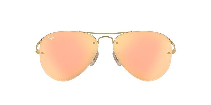 Ray-Ban Rb3449, Gafas de Sol para Hombre, Marrón (Gold/Copper ...