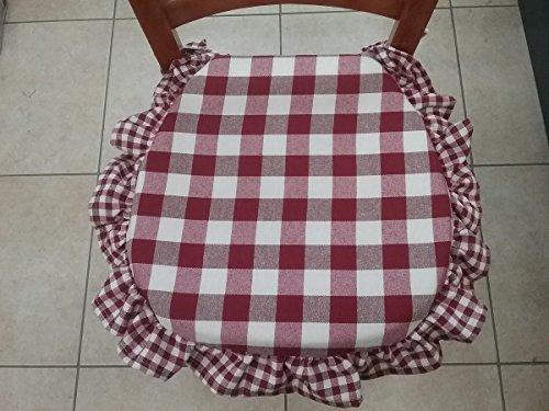 cuscini sedie cucina 4 bordo amazonit casa e cucina
