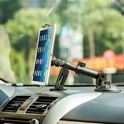 Universal 360° Car Dashboard/Windshield/Table Suction Mount Holder Bracket for iPad pro 9.7,iPad Air,iPad mini 4 3 2 1,iPad 4 3 2