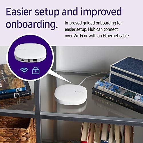 Samsung GP-U999SJVLGDA 3rd Generation SmartThings Hub, White 51VJgKkrKEL