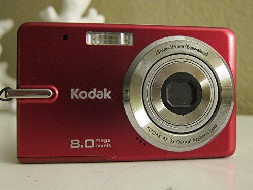 Kodak EasyShare M883 8MP 3x Optical Zoom Digital Camera (Red)