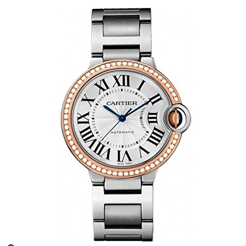 Cartier Ballon Bleu Diamond Dial and Bezel 36mm WE902081