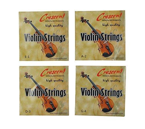 (Ensemble de violon 4/4 Bowstring Cordes (GDAE))