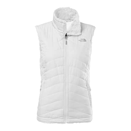 b921bf5a1168 Amazon.com  The North Face Mossbud Swirl Reversible Vest Womens TNF White  TNF White L  Sports   Outdoors
