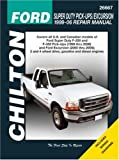 Ford Super Duty Pick-ups/Excursion: 1999 through 2006 (Chilton's Total Car Care Repair Manual)