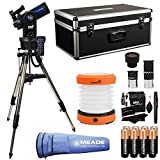 Meade Instruments ETX90 Observer Maksutov-Cassegrain Telescope with Tripod, Eyepieces, and Hand Carry Case (205004), Ritz Gear Cleaning Kit, 8 Duracell Alkaline Batteries & LED Camping Lantern