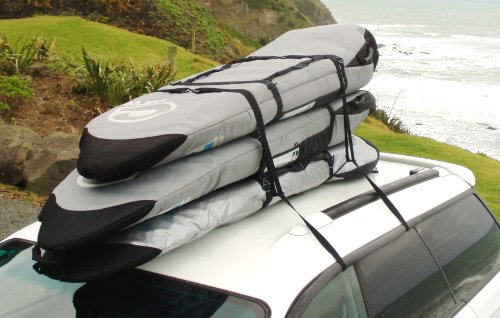 Surfboard Soft Rack - Surfboard Car Racks for TRAVEL by Curve (set of 2)