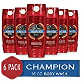 Old Spice Men's Body Wash, Champion Scent, Red Zone Collection, 16 oz (Pack of 6)