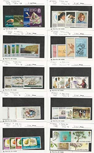 Pitcairn Islands, Postage Stamp, 194//230 Mint NH, 1980-83, JFZ