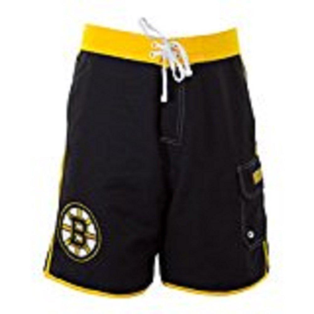 Calhoun NHL Men's Official Team Boardshorts (Boston Bruins, XX-Large)