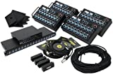Elite Core Audio PM-16 4-Pack 16-Channel Personal Monitor Mixer System