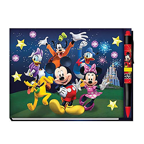 Disney 85231 Mickey and Friends Deluxe Autograph Book with Pen