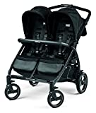 Peg Perego Book for Two Baby Stroller, Onyx