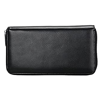 Women Credit Card Wallet, Gazigo 36 Card Slots Genuine Leather RFID Blocking Card Case Wallet