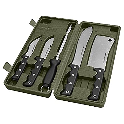 High Desert Big Game Butcher Hunting Knife Kit (5 Piece)