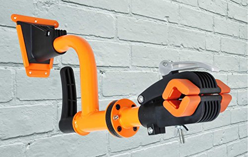 Conquer Bicycle Wall Mount Repair Stand Bicycle Rack - Rotating Head by Conquer (Image #4)