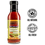 Hot and Happening, Cayenne with Mustard; Shake up Your Bbqs with the Spicy, Zesty Aubrey D Louisiana Bbq Sauce 12 oz x 1