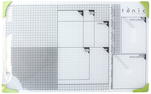 Tonic Studios 352E A3 Glass Cutting Mat-14.3 Inches X23.6 Inches by TONIC STUDIOS
