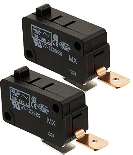 - Honeywell Micro Switch Premium Basic / Snap Action Switch 25A @ 250VAC V7-1Z29E9, ( Pack of 2)