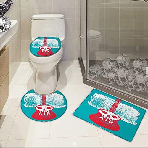 Carl Morris Indie bathmat toilet mat set Open Air Festival P