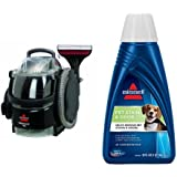 Bissell 3624 SpotClean Professional Portable Carpet Cleaner - Corded and BISSELL 2X Pet Stain & Odor Portable...