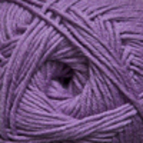 Cotton Wool Blend Yarn - Cascade Anchor Bay Cotton/Superwash Merino Wool Blend - Dusty Lavender (#01)