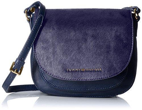 Tommy Hilfiger Hair Calf Saddle Bag - Navy - One Size