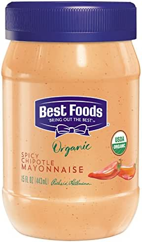 Mayonnaise: Best Foods Organic Spicy Chipotle
