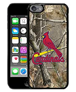 Popular And Fashionable Designed iPod Touch 6 Case ,St Louis Cardinals 1 Black iPod Touch 6 Skin High Quality Phone Case