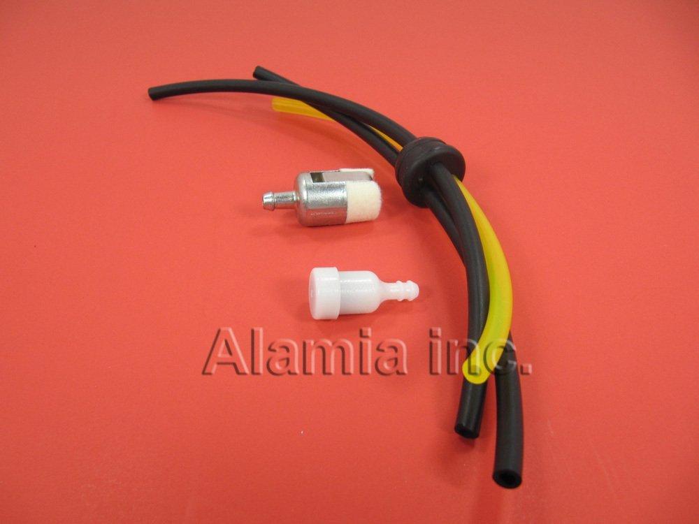 Mantis Tiller Parts Fuel Line, Fuel Filter and Vent  Fits All New Mantis  Echo Tiller With 3-Fuel Hoses
