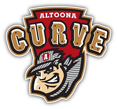Altoona Curve MILB野球USAスポーツロゴコンボアート装飾ビニールステッカー5