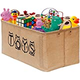 "Gimars 20"" Cute Well Holding Shape Jute Toy Chest Baskets..."