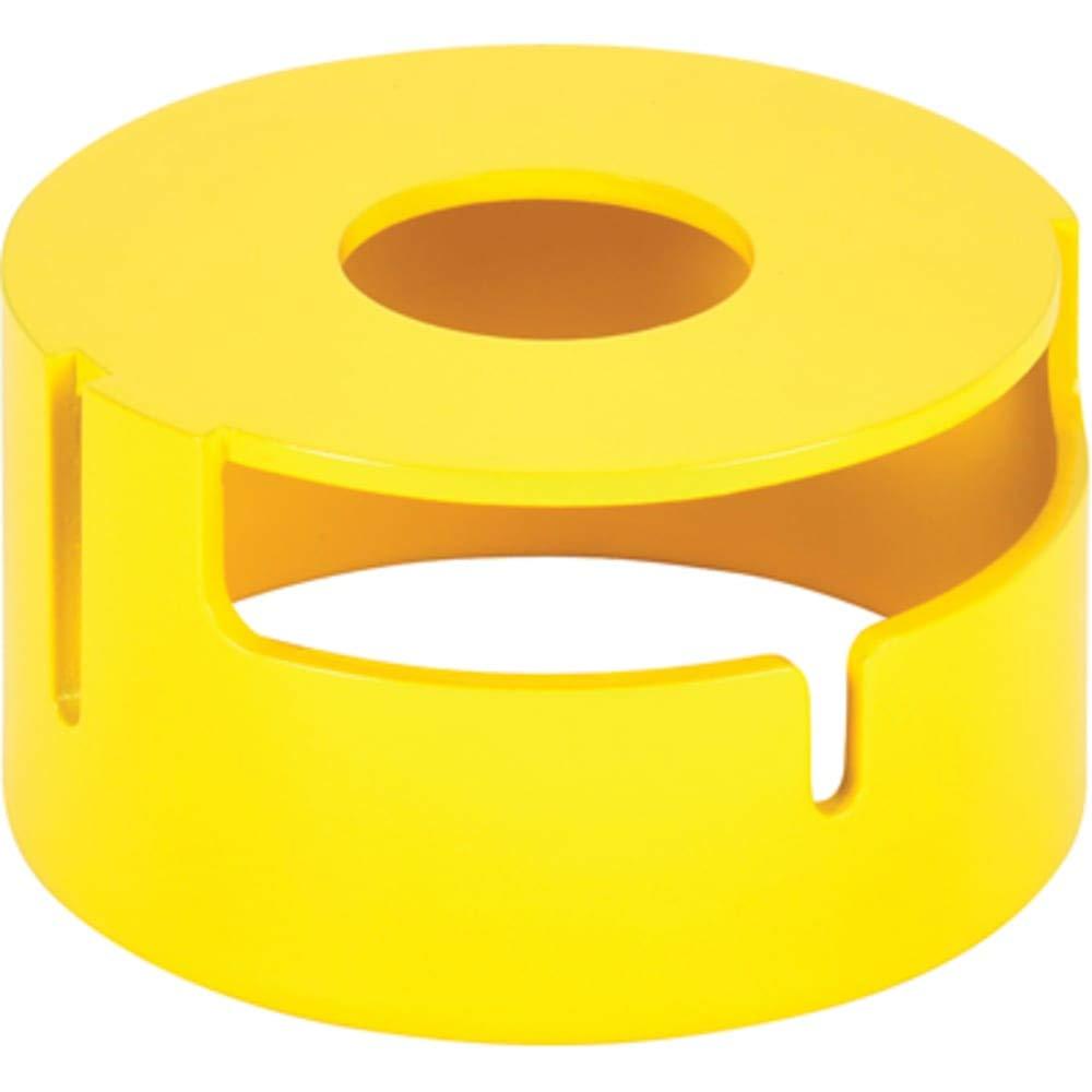 PUSHBUTTON; 30.5 MM; OIL/WATERTIGHT; ACCESSORY; JUMBO MUSHROOM HEAD SHROUD - YEL
