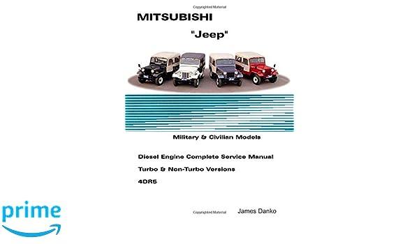 mitsubishi jeep service manual