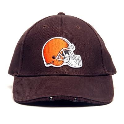 NFL Cleveland Browns Dual LED Headlight Adjustable Hat