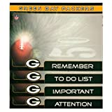 Green Bay Packers 4 Pack Magnetic to Do Notes