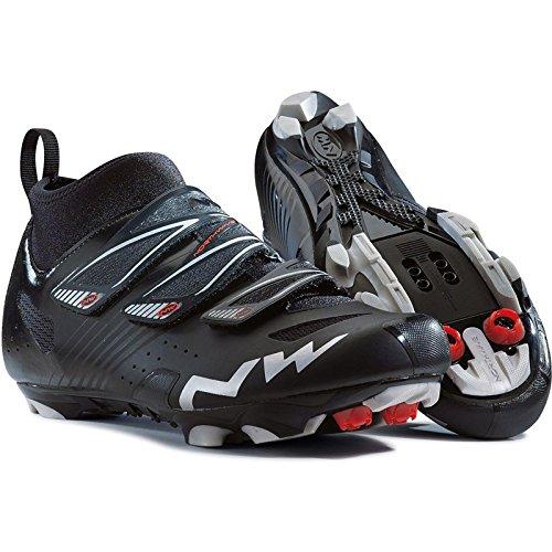 oss / Mountain Bike Shoes HAMMER CX Mens EU 45 Matte BLACK ()