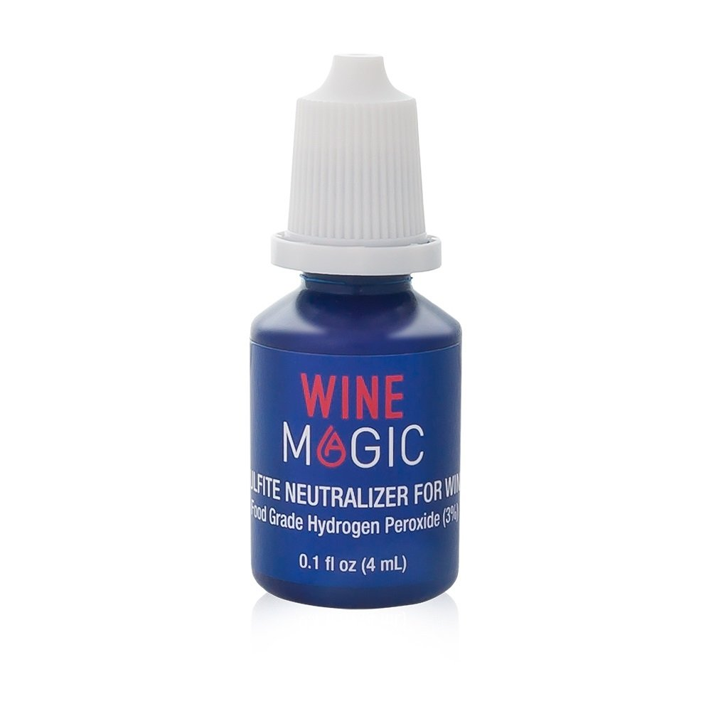 Wine Sulfite Remover by Wine Magic – Wine Purifier Drops (For Red & White Wine and Any Alcohol Containing Sulfites) – Perfect Alternative to a Wine Sulfite Filter