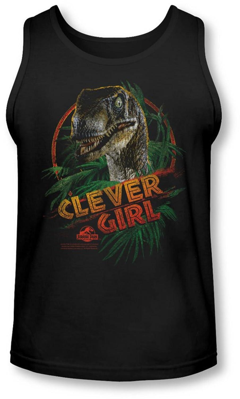 Jurassic Park - Mens Clever Girl Tank-Top