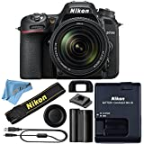 Nikon D7500 DSLR Camera With 18-140mm ED VR Lens - Includes Manufacturer Supplied Accessories (18-140mm Lens, Cloth Only)
