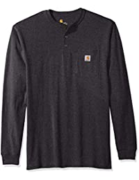 Men's Big & Tall Workwear Pocket Long Sleeve Henley