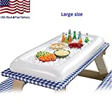 : Portable InflatableInflatable Serving Bar Buffet Salad Ice Cooler outdoor Party Self-help Beer Table Large Size