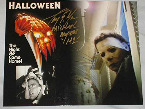 TONY MORAN Signed Halloween 8x10 Custom Photo Autograph Michael -