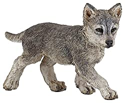 Papo Wolf Cub Toy Figure