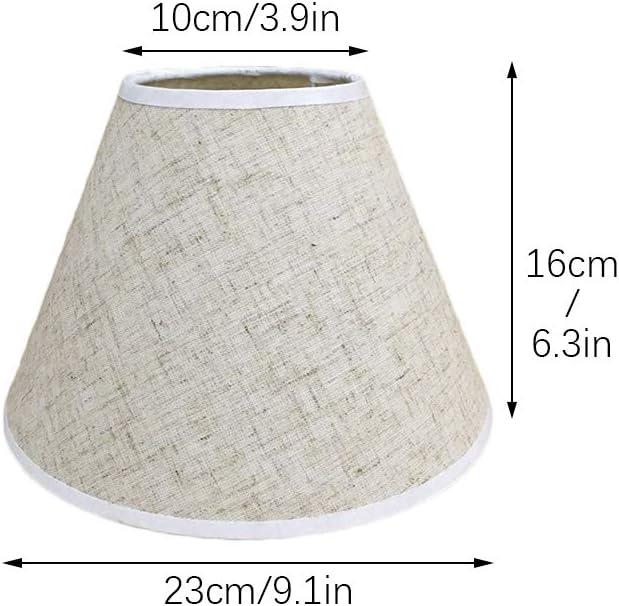 Paralume in tessuto artigianale lampadario da tavolo Nero paralume da parete lampada a sospensione