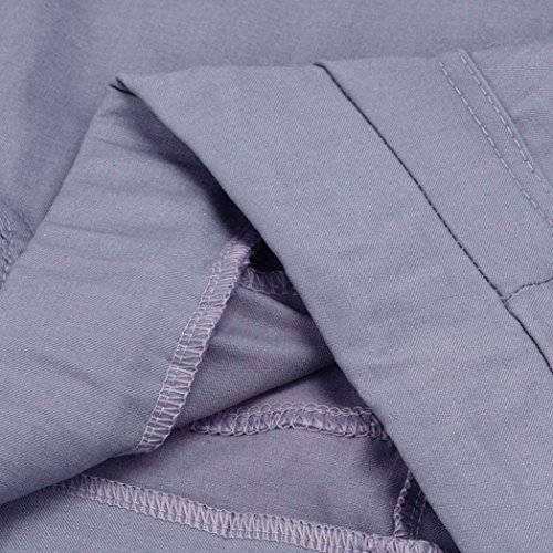Grau Otoño Pantalon 8 Mujer Niña Elastisch Agujeros Estilo Cintura Con Bolsillos Lápiz Sólido Ripped Color Pantalones 7 Primavera Alta Moda Elegantes Bund Fiesta De gxSnF1F