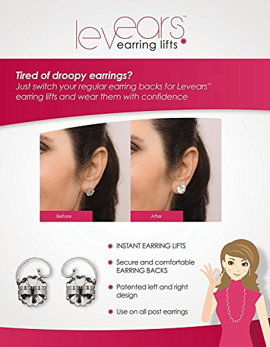 Levears Earring Lifts 14kt Yellow Gold by Levears Earring Lifts